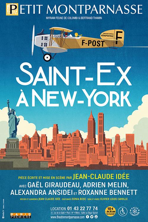 SAINT-EX A NEW-YORK